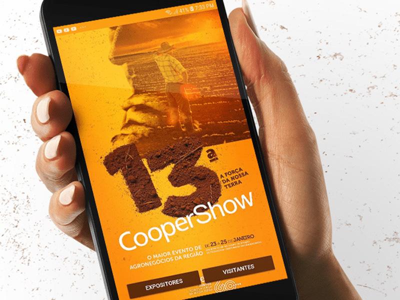 Coopershow 2019 terá aplicativo voltado ao expositor e visitante